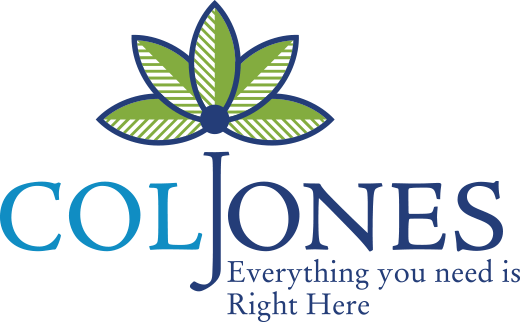 Col Jones Logo - Everything you need is Right Here
