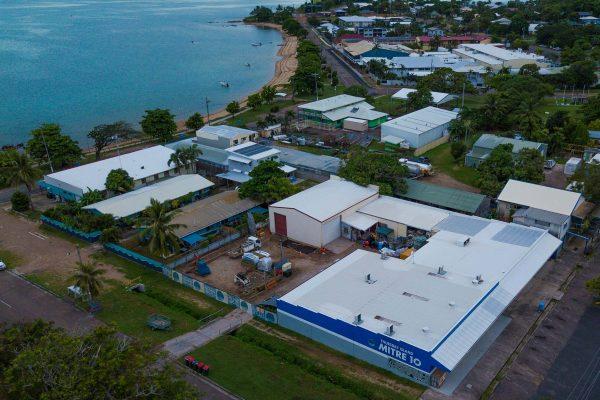 Thursday Island Mitre 10 Aerial View