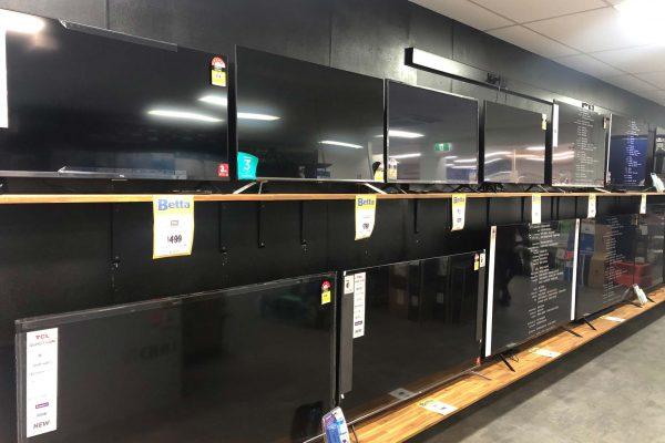 Col Jones New TVs